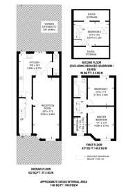 Large floorplan for Bridgewater Road, Alperton, HA0