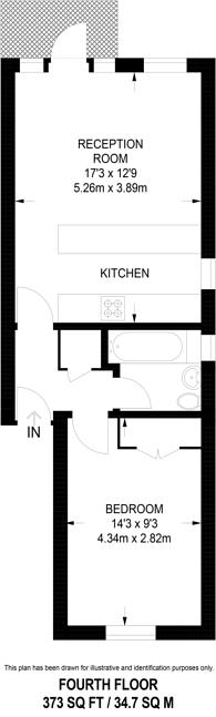 Large floorplan for Peter Street, Soho, W1F