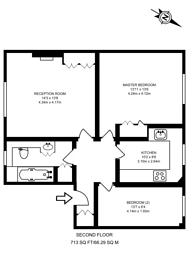 Large floorplan for Reeves Mews, Mayfair, W1K