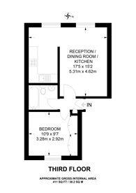 Large floorplan for Oakley Street, Chelsea, SW3