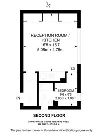 Large floorplan for Lennox Gardens, Chelsea, SW1X