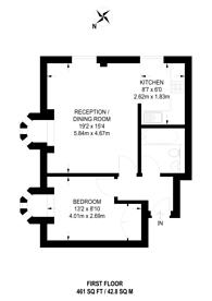 Large floorplan for ., Westminster, SW1P