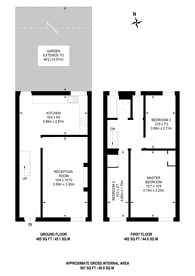 Large floorplan for Balham New Road, Balham, SW12