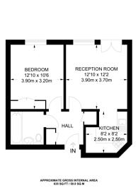 Large floorplan for Chandler Way, Peckham, SE15