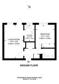 Large floorplan for Woodcock Hill, Kenton, HA3
