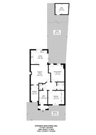 Large floorplan for Balfour Road, Harrow, HA1