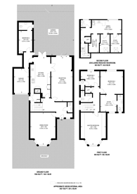Large floorplan for Sidmouth Road, Brondesbury, NW2
