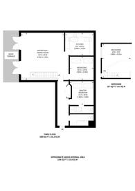 Large floorplan for Bentley Road, Islington, N1