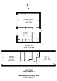 Large floorplan for Lomas Street, Whitechapel, E1