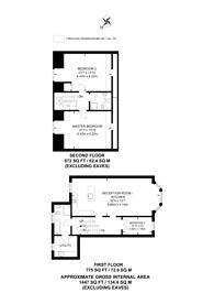 Large floorplan for Lingards Road, Lewisham, SE13