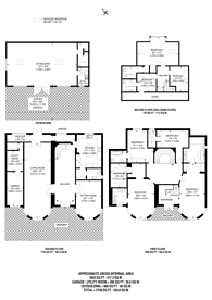 Large floorplan for Dobree Avenue, Willesden, NW10