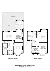 Large floorplan for Wren Avenue, Cricklewood, NW2