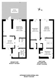 Large floorplan for Upper Clapton Road, Clapton, E5
