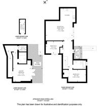 Large floorplan for Vincent Square, SW1P, Westminster, SW1P