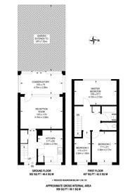 Large floorplan for Phipps Bridge Road, Mitcham, CR4