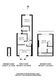 Large floorplan for Tubbs Road, Harlesden, NW10
