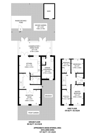 Large floorplan for Beryl Avenue, Beckton, E6