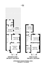 Large floorplan for Hartfield Crescent, Wimbledon, SW19