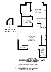 Large floorplan for Belsize Square, Belsize Park, NW3