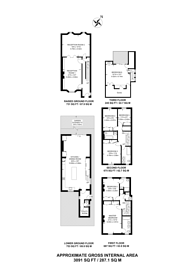 Large floorplan for St Augustines Road, Camden, NW1