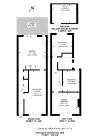 Large floorplan for Cyprus Street, Bethnal Green, E2