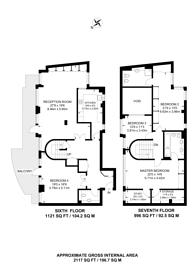 Large floorplan for Glaisher Street, Greenwich, SE8