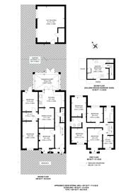Large floorplan for Heathside, Whitton, TW4