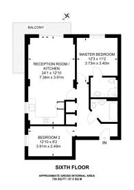 Large floorplan for Spring Place, Barking, IG11