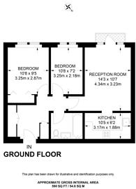 Large floorplan for Sheepcote Road, Harrow, HA1