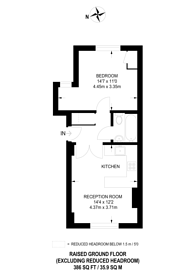 Large floorplan for Gipsy Hill, Crystal Palace, SE19