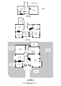 Large floorplan for Christchurch Avenue, Brondesbury, NW6