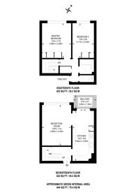 Large floorplan for Clapham Road, Oval, SW9