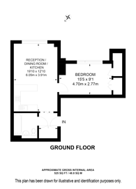Large floorplan for Chapter Street, Westminster, SW1P