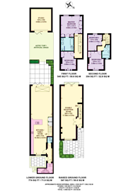 Large floorplan for Brittania road, Moore Park Estate, SW6