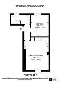 Large floorplan for Old Devonshire, Balham, SW12