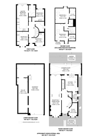 Large floorplan for Duncombe Hill, Forest Hill, SE23