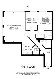 Large floorplan for Sherman Road, Bromley, BR1