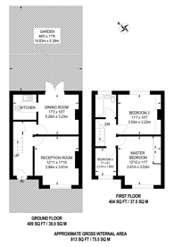 Large floorplan for Witham Road, Anerley, SE20