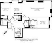 Large floorplan for Baker Street, Marylebone, NW1