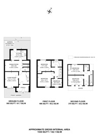 Large floorplan for Staines Road, Bedfont, TW14