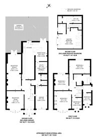 Large floorplan for Monks Avenue, Barnet, EN5