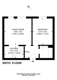 Large floorplan for London Road, Croydon, CR0