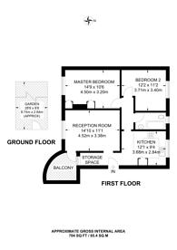 Large floorplan for Stonecot Hill, Sutton, SM3