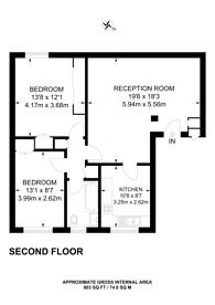 Large floorplan for Waldronhyrst, Croydon, CR2
