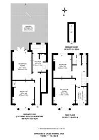 Large floorplan for Whitton Road, Twickenham, TW2
