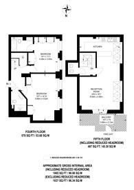 Large floorplan for Lambs Conduit Street, Bloomsbury, WC1N