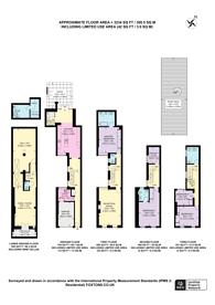 Large floorplan for Catherine Place, SW1E, St James's Park, SW1E