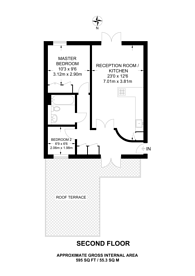 Large floorplan for Trinity Gate, Guildford, GU1
