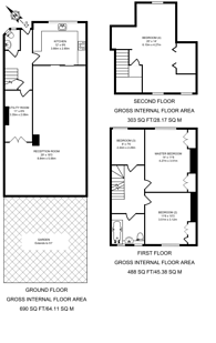 Large floorplan for Cloister Road, Cricklewood, NW2