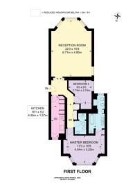 Large floorplan for Holland Park, Holland Park, W11